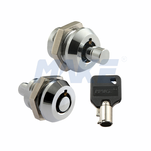 MK502 Small Push Cylinder AD Showcase Lock