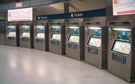 What cam locks can be used for self-service ticket vending machines to improve security?